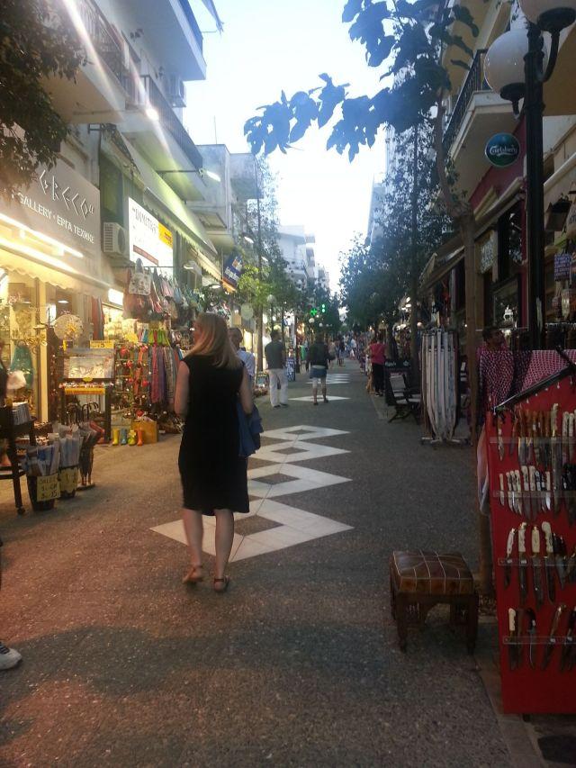 Agios Nicolaos - shopping street