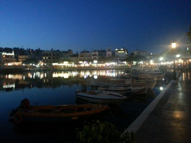 The bay of Agios Nicolaos