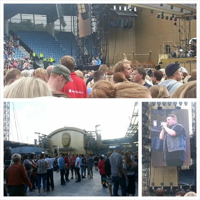 Robbie Williams Consert Stavanger