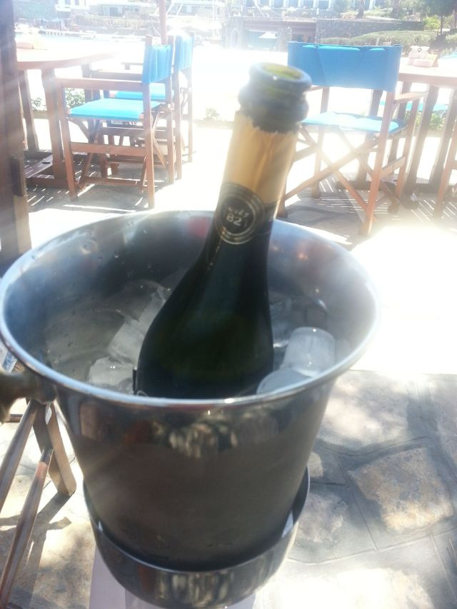 Poppin´a prosecco for lunch