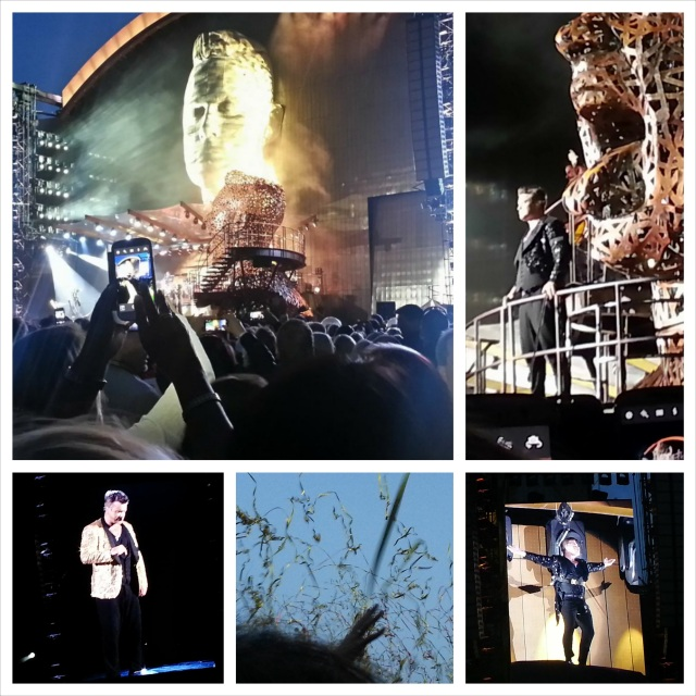 Robbie Williams show Stavanger 2013