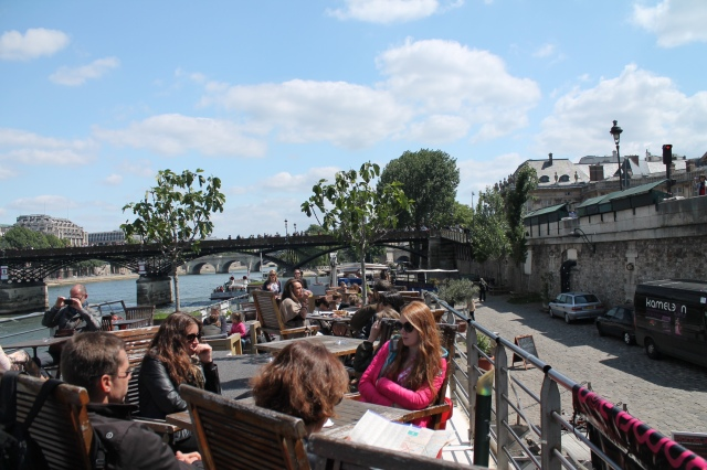 Paris by the seine
