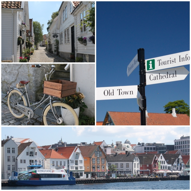 Old town Stavanger and the harbor