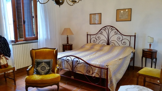 our bedroom - one of two. The second one has two single beds